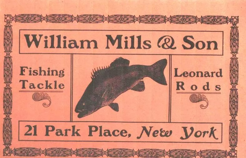 Mills 1909 Catalog