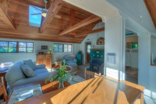 Madrona Point Cottage interior