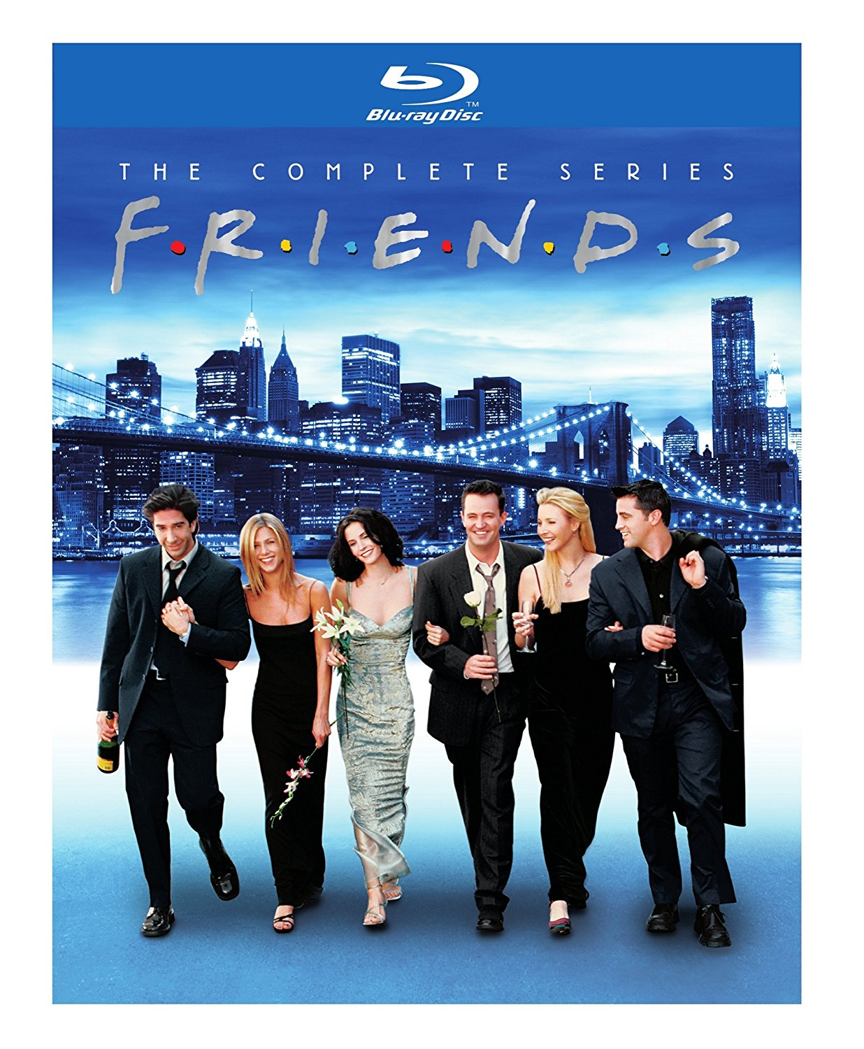 Friends The Complete Series Blu Ray Edition OrcaSound