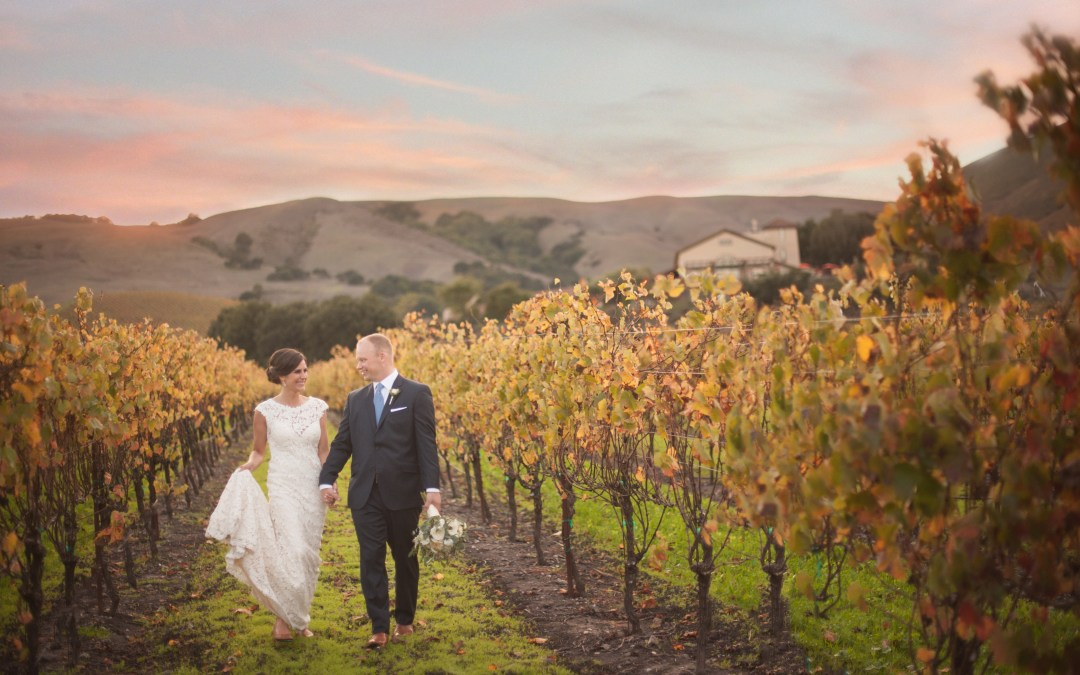 Alyssa & Aaron – Sonoma Winery Wedding