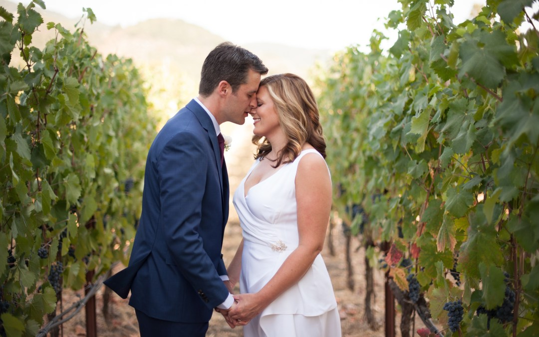 Julie & David – Landmark Vineyards Wedding