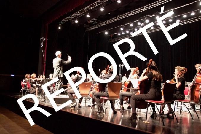 concert reporté