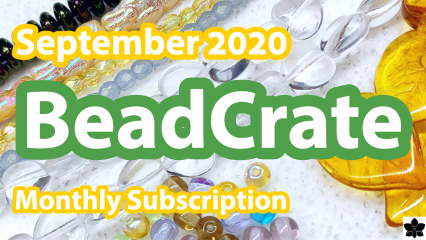 BeadCrate Collector Monthly Bead Subscription Unboxing | Sep 2020