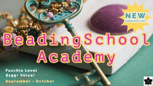 BeadingSchool Academy Bead Subscription