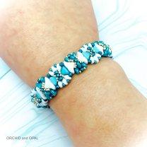 poolside beaded bracelet