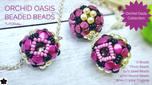 Orchid Oasis Beaded Beads Tutorial