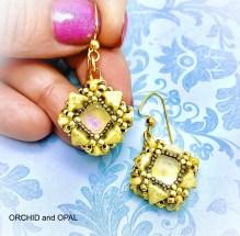 kheops par puca earring pattern