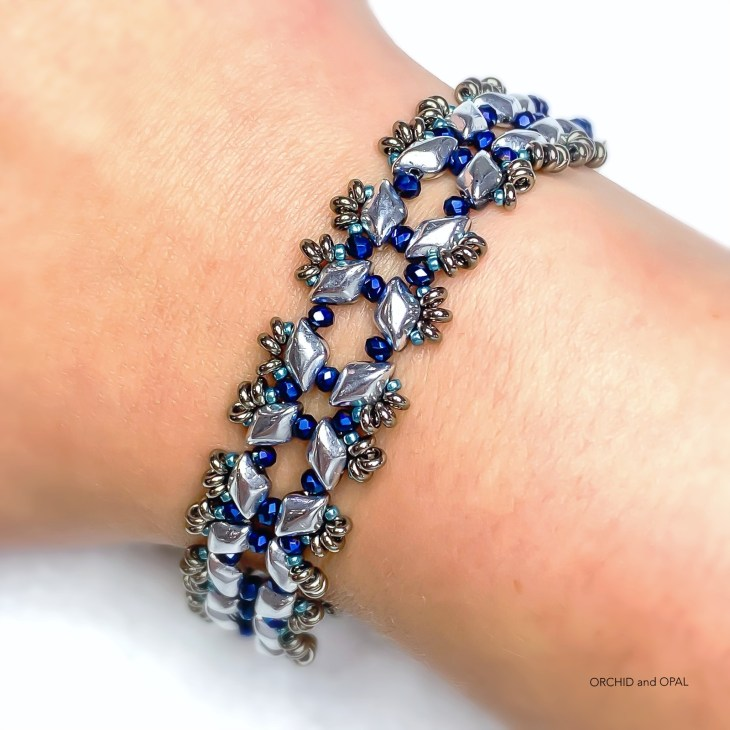 Starlight Bracelet Orchid and Opal 1