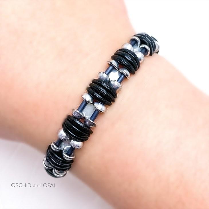 backlit bracelet black
