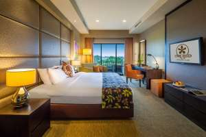 Deluxe rooms with affordable rates at OCC Hotel