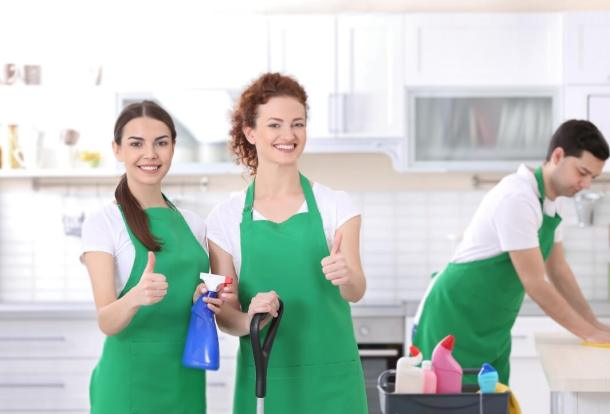 Cleaning Services Team - Hiring a Cleaning Company