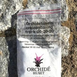 Näring till orkidéer