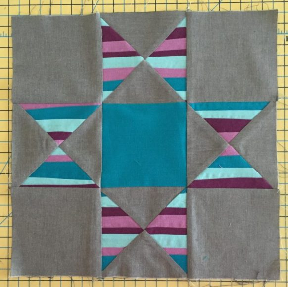 Improv Stripe Star