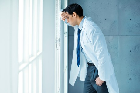 1 in 4 Doctors Suffer From Depression Symptoms