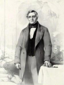 NPG D37486; Nathaniel Bagshaw Ward by Richard James Lane, printed by  M & N Hanhart, after  John Prescott Knight
