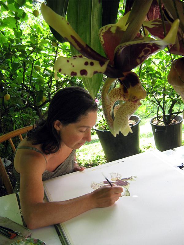 Silvana Rava, la botanica, le orchidee e l'amicizia