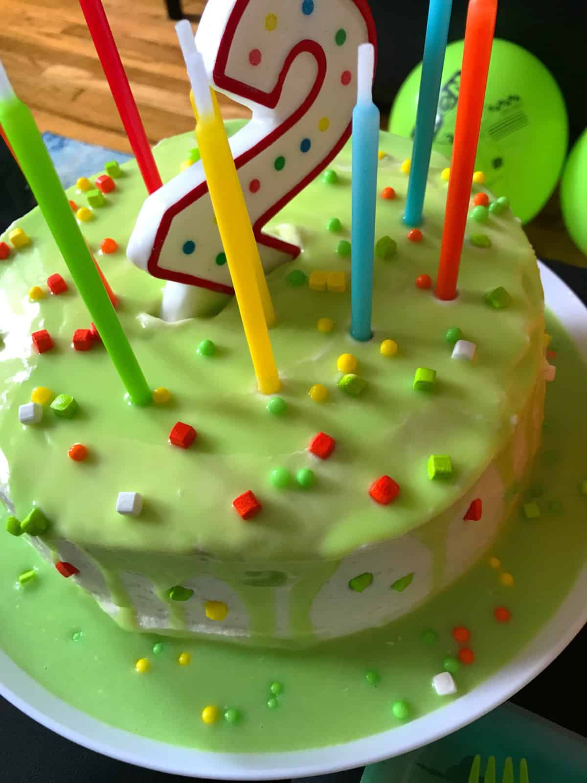 Best Very Vanilla Cake Recipe + Birthday #2 Cake