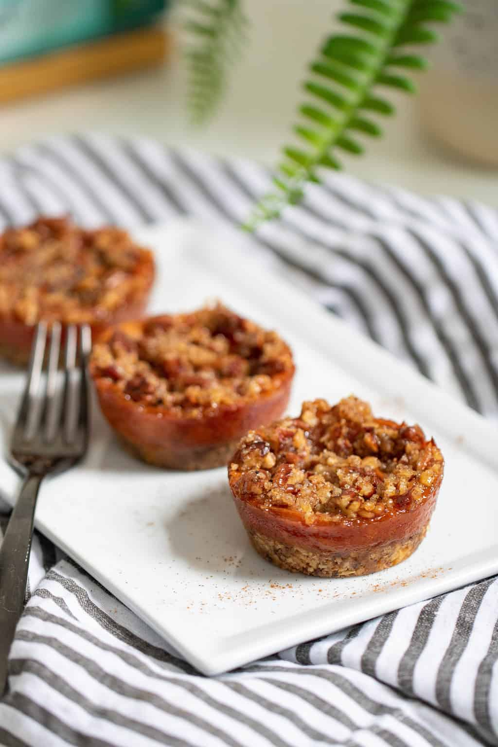 Mini Sweet Potato Pecan Pies
