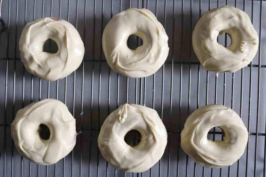 Vegan Vanilla Unicorn-inspired Doughnuts