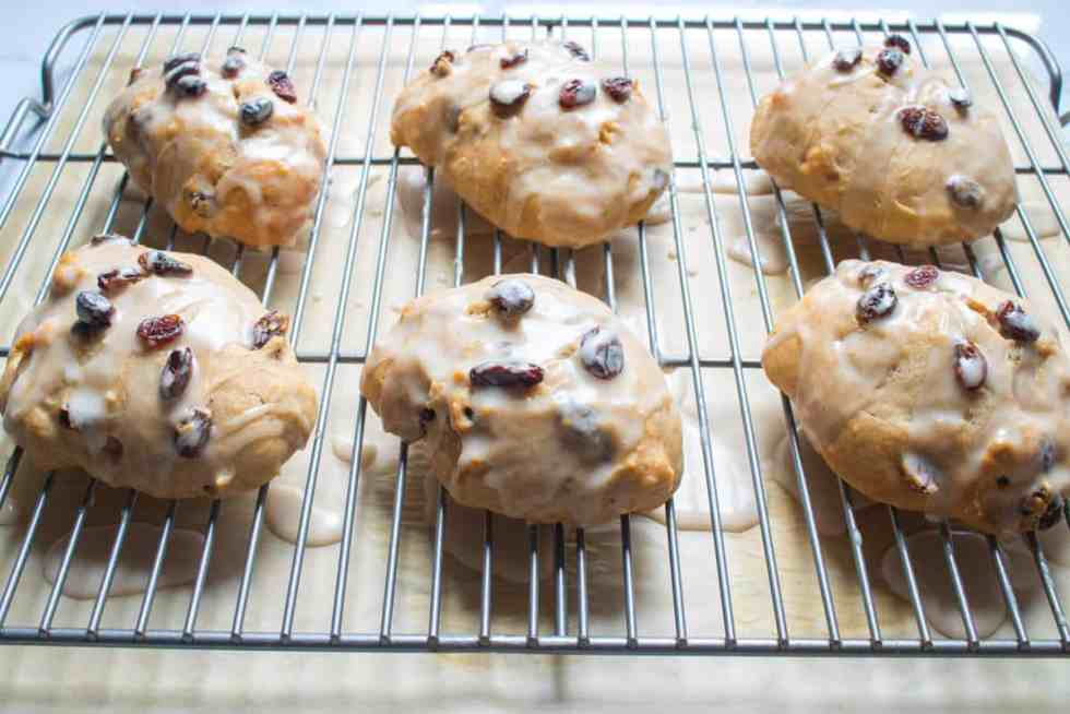 Cinnamon Raisin Banana Vegan Scones