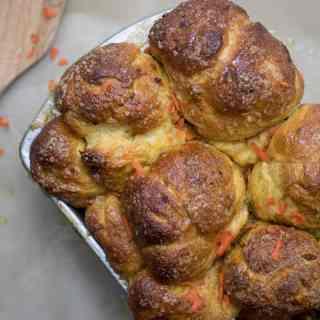 Maple Carrot Monkey Bread