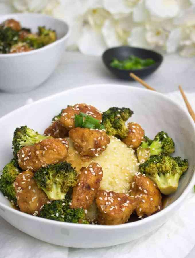 Sweet Teriyaki Chicken + Broccoli