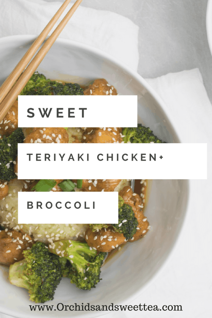 Sweet Teriyaki Chicken + Broccoli
