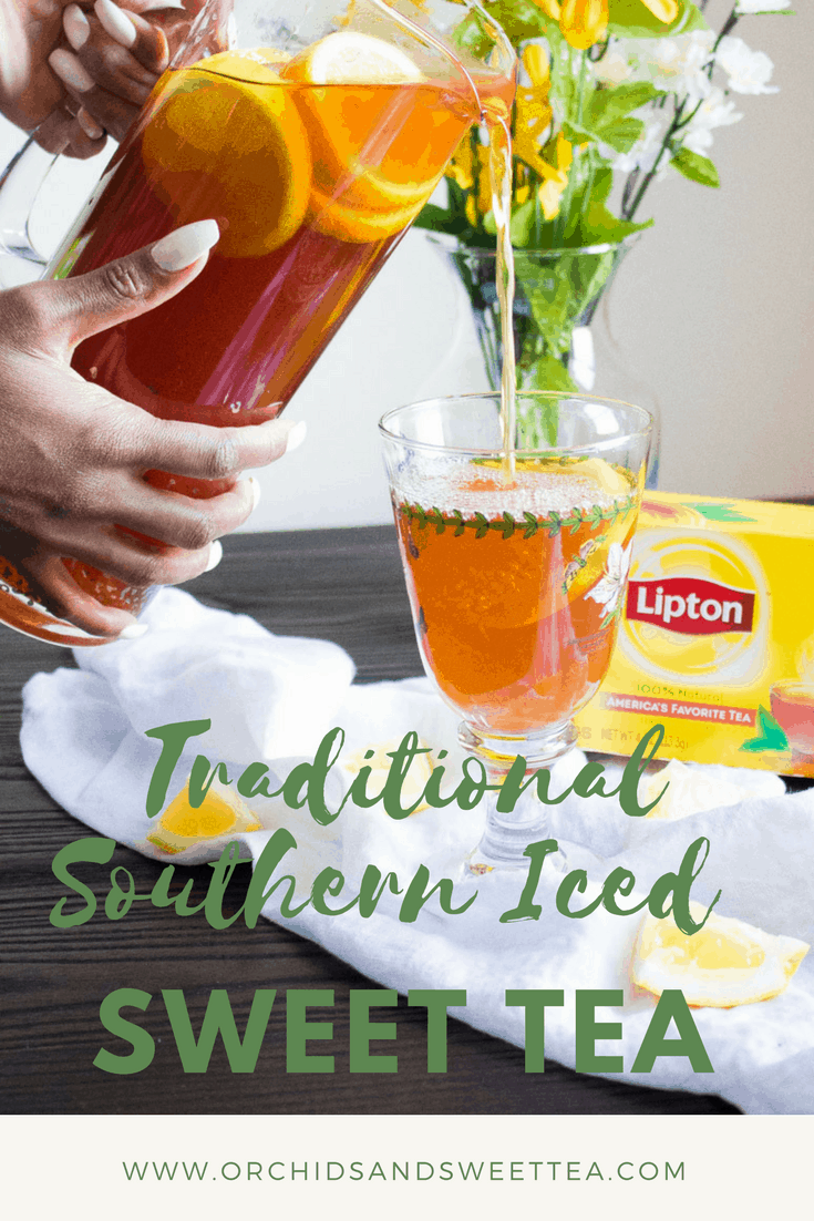 Traditional Southern Iced Sweet Tea