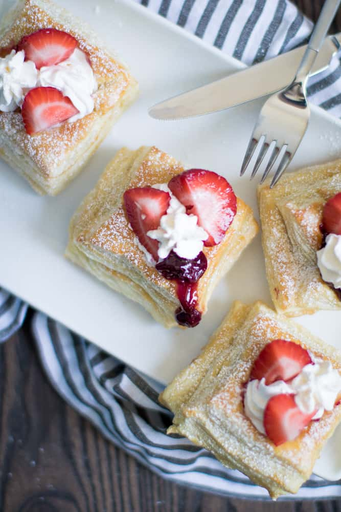 Very Berry Sweet Puff Pastry