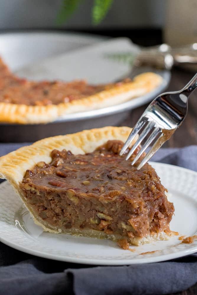 Classic Southern Vegan Pecan Pie