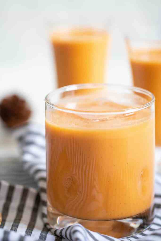 Creamy Jamaican-Inspired Vegan Carrot Juice