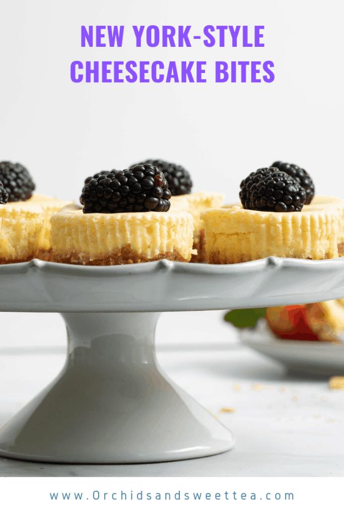 New York-Style Cheesecake Bites