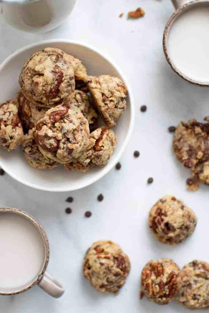 Dairy-Free Chocolate Chip Pecan Cookies