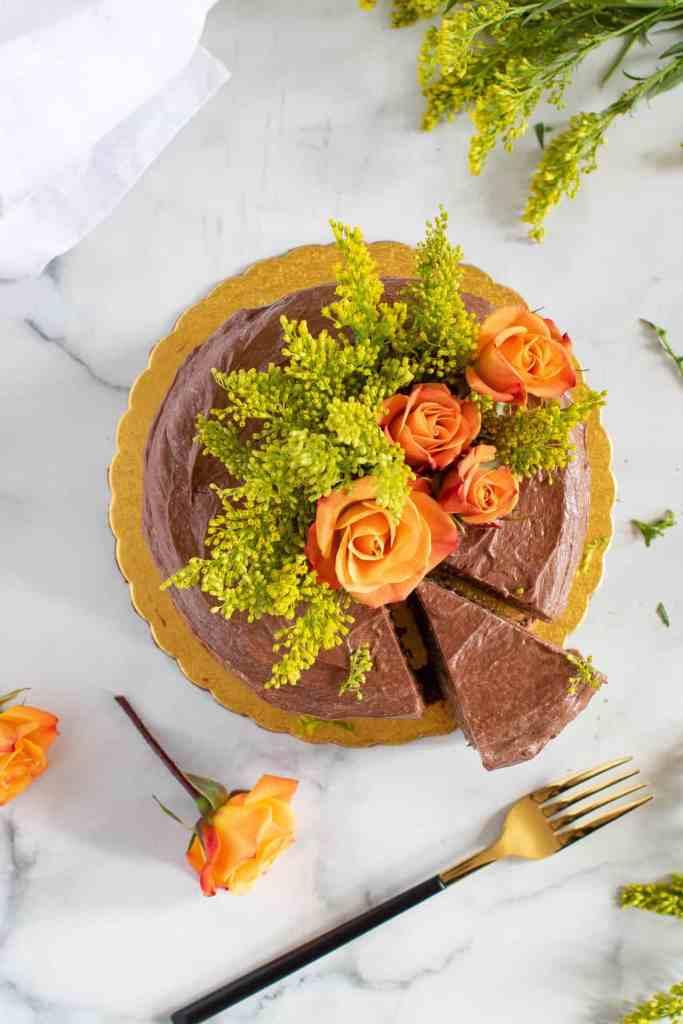 The Best Vegan Chocolate Cake + Chocolate Buttercream