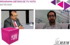 DESTACA IEEM ORGANIZACIÓN DE LA ELECCIÓN EN NEXTALPAN