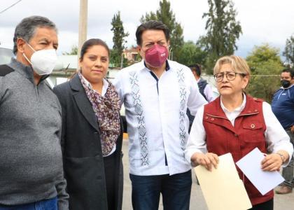 SE DEBE GARANTIZAR ELECCIÓN LIMPIA EN NEXTLALPAN: MARIO DELGADO