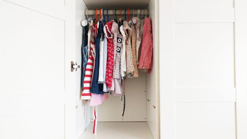 Antes y despu s un armario infantil orden y limpieza en - Orden y limpieza en casa ...