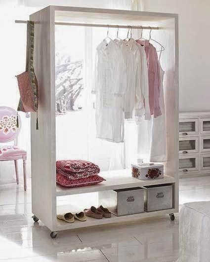 Cmo hacer un vestidor low cost Orden y Limpieza en Casa