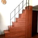 大阪府堺市西区のお客様(戸建て)より階段収納家具のご依頼