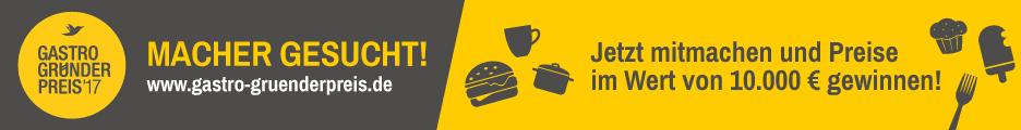 Banner des Gatstrogründerpreises 2017