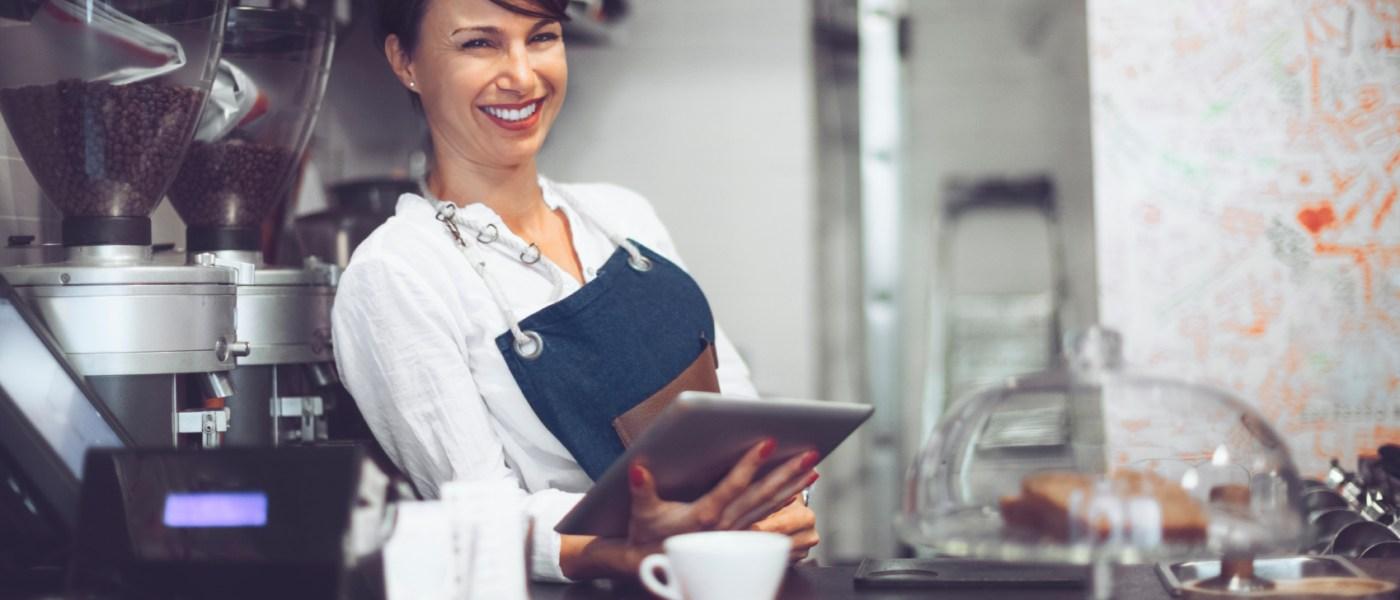 Registrierkassenpflicht 2016: Gastronomin mit iPad-Kasse
