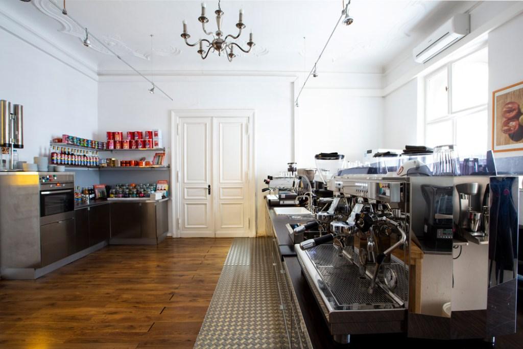 Räumlichkeiten für die Barista-Schulung bei der Berlin School of Coffee in Berlin