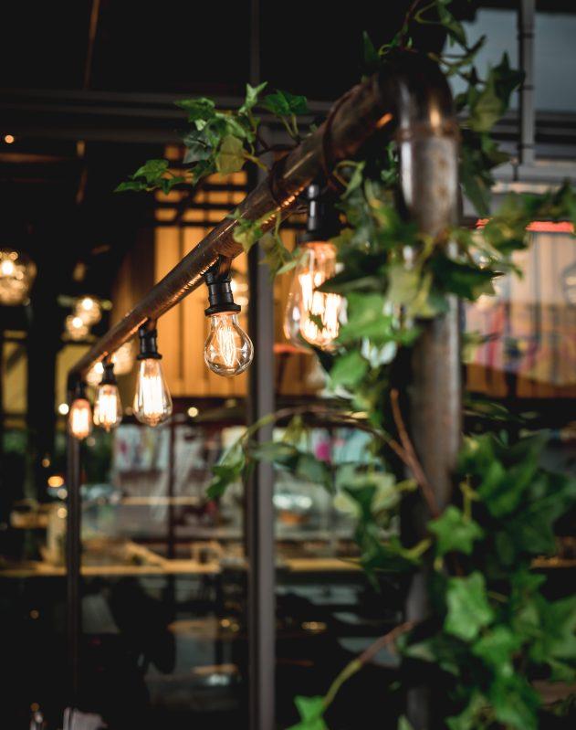 Intérieur de restaurant atypique