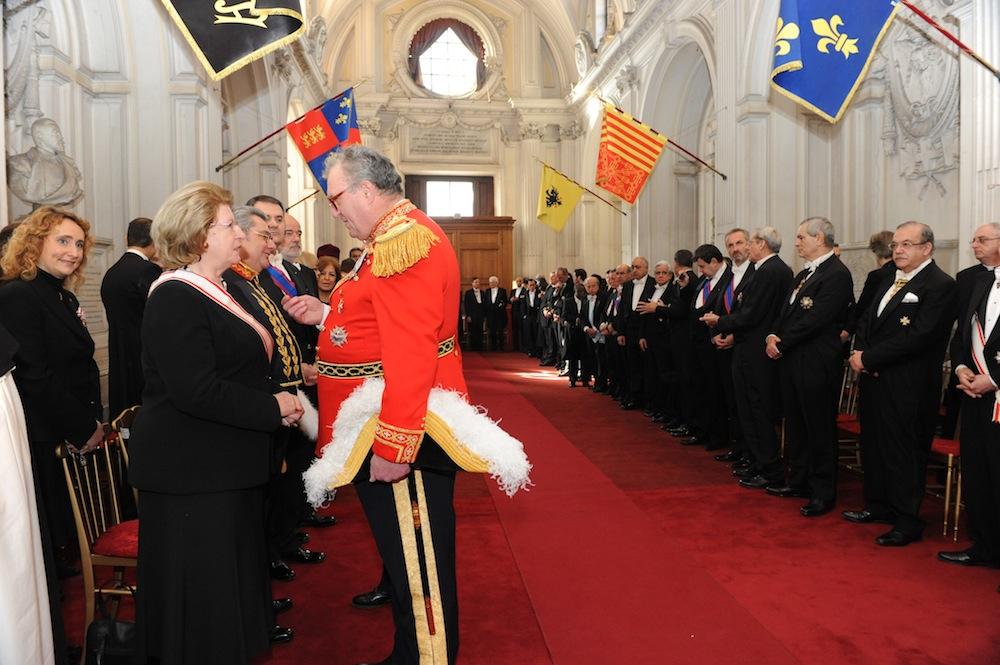 11/01/2012 - Il Gran Maestro dell'Ordine di Malta incontra il Corpo Diplomatico accreditato
