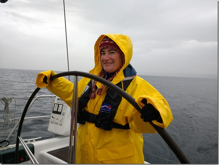 sailing rubber rain gear winter