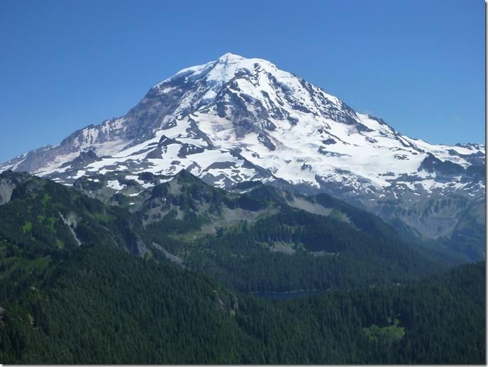 Mt Rainier from Tolmie peak