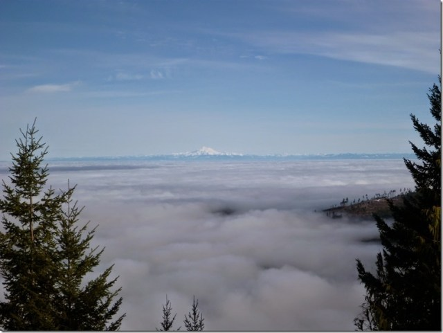 winter day trip to olympic national park inversion