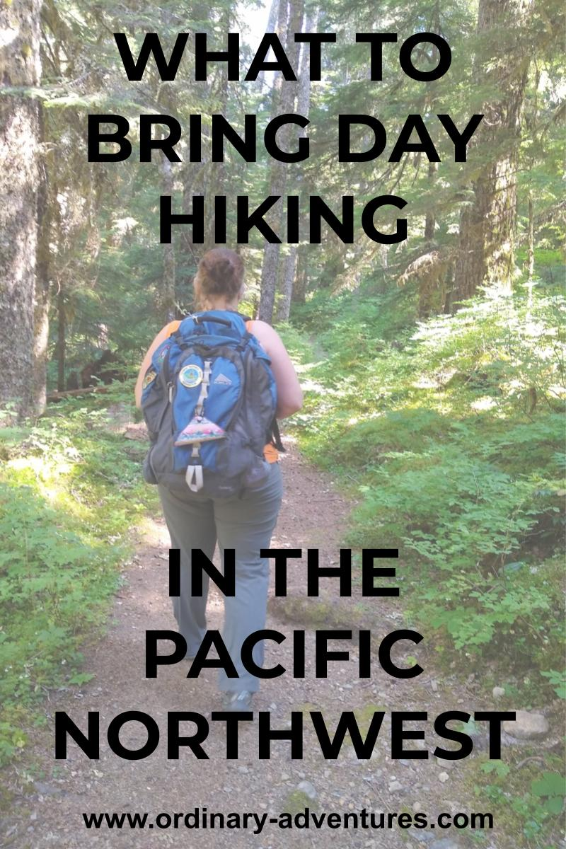 what to bring day hiking