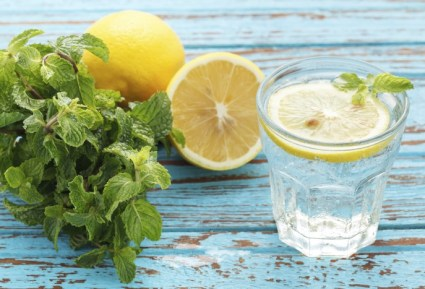Hydration - water - lemon