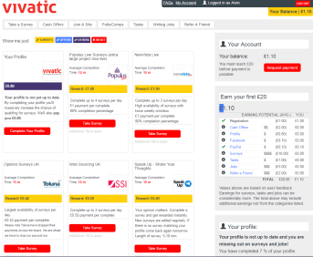 how to make money with paid surveys using vivatic